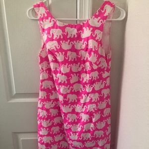 Lilly Pulitzer pink summer dress
